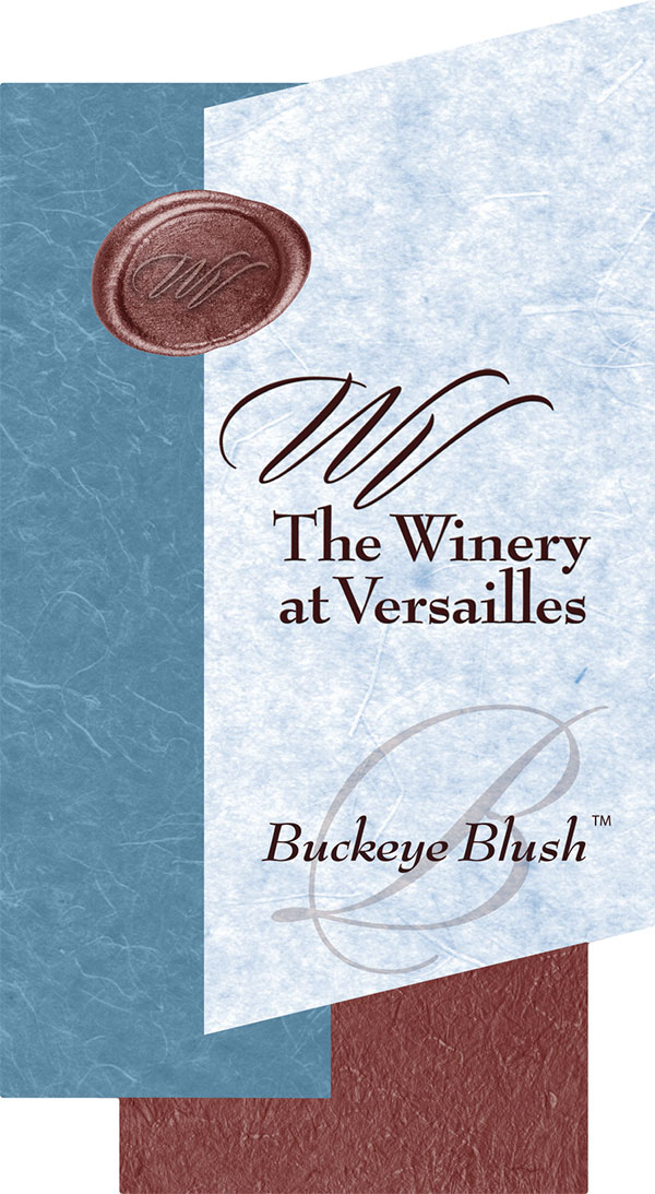 Versailles 2017 Buckeye Blush - Wine Label
