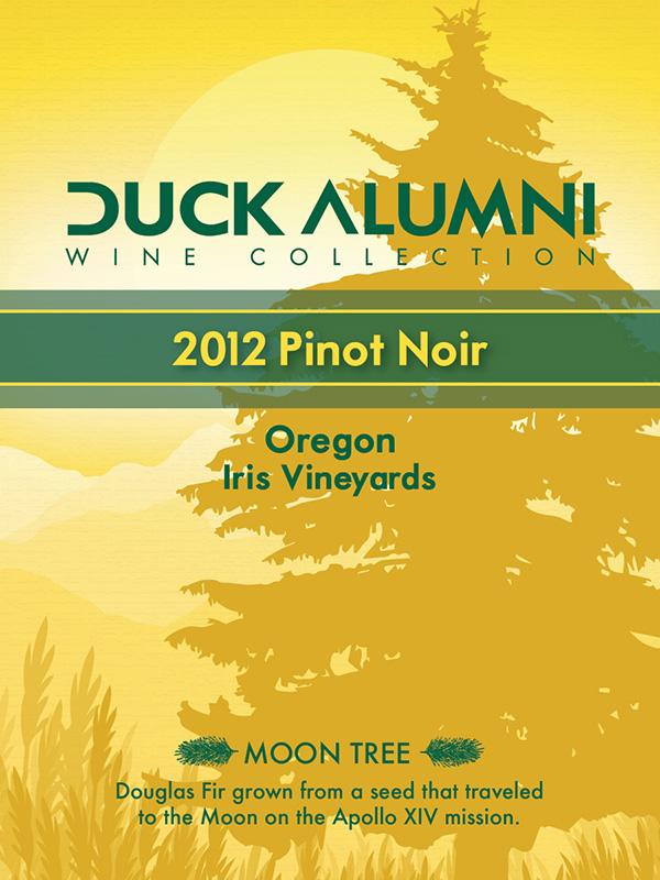Iris Vineyards 2012 Pinot Noir - Label