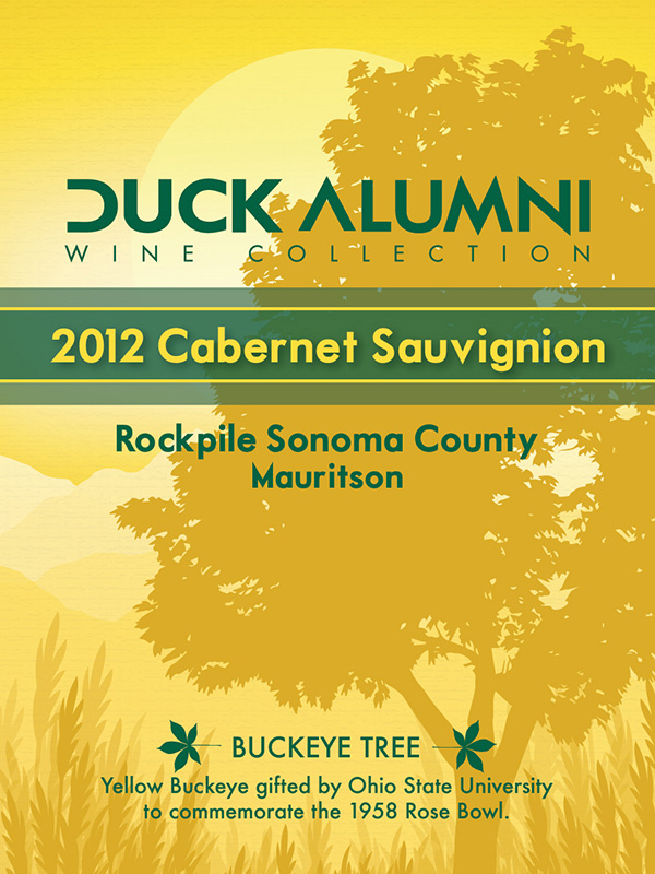 Mauritson Family Winery 2012 Cabernet Sauvignon - Label